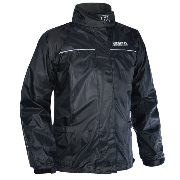 Picture of Oxford Rainseal Over Jacket Black